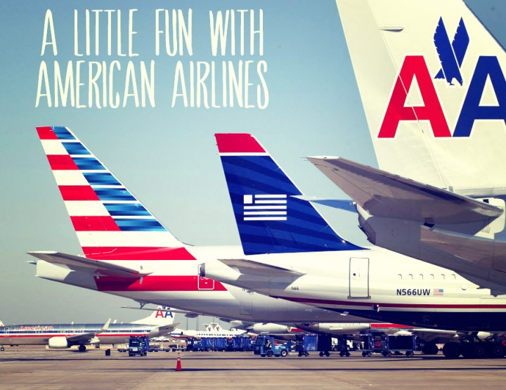 A Pun War with American Air.